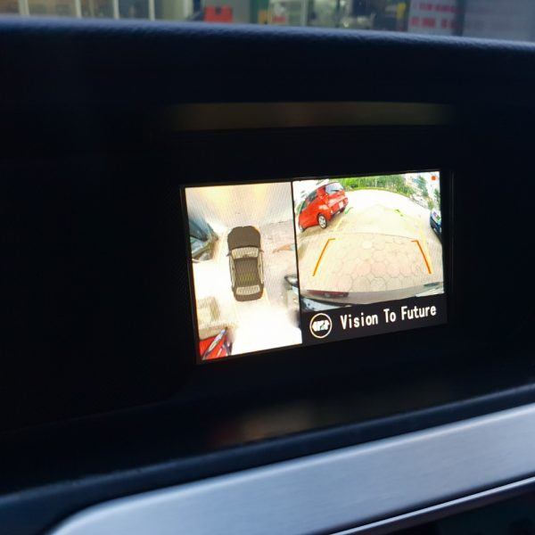 camera-360-oris cho xe Mercedes C300 ở Hà Nội