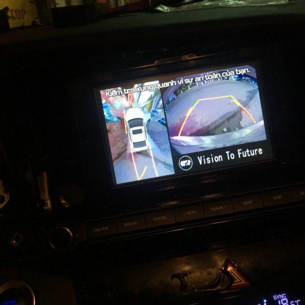 camera-360 cho ô tô uy tín ở Hà Nội
