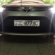 Toyota Vios lên bi gầm